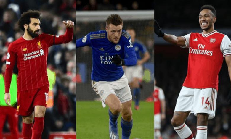 """تعرف على ترتيب أفضل 15 لاعبًا في الدوري الانجليزي من رابطة الكتاب """"غياب محمد صلاح وفاردي""""!"""