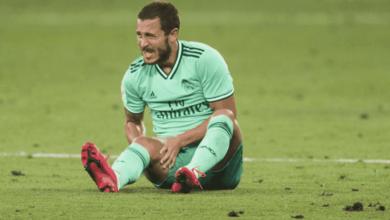 صورة ما هو سبب استبعاد إيدين هازارد عن قائمة ريال مدريد، التي ستواجه خيتافي؟