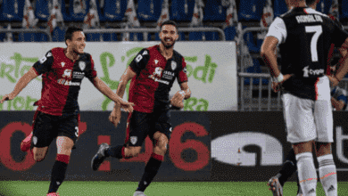 """صورة كالياري يلقن """"البطل"""" يوفنتوس الخسارة السادسة في الدوري الايطالي"""