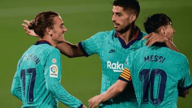 """صورة ملخص مباراة برشلونة وفياريال في الدوري الاسباني """"ميسي ورفاقه يرفضون الاستسلام"""""""