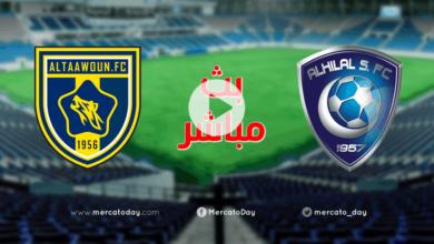 صورة بث مباشر   مشاهدة مباراة الهلال والتعاون الودية قبل عودة الدوري السعودي