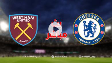 بث مباشر   مشاهدة مباراة تشيلسي ووست هام في الدوري الانجليزي