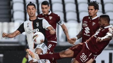 ديربي يوفنتوس وتورينو في الدوري الايطالي - كريستيانو رونالدو