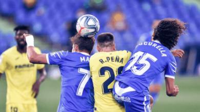 صورة 4 بطاقات حمراء في دقيقة واحدة بنهاية مباراة فياريال وخيتافي في الدوري الاسباني