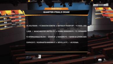 """صورة نتيجة قرعة الدوري الاوروبي دور ال8 ودور ال4 """"طريق مانشستر يونايتد مُمهد لنصف النهائي"""""""