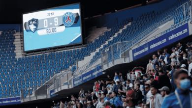 صورة في حضور 5 آلاف مشجع..باريس سان جيرمان يسحق فريق بول بوجبا القديم 9-0!