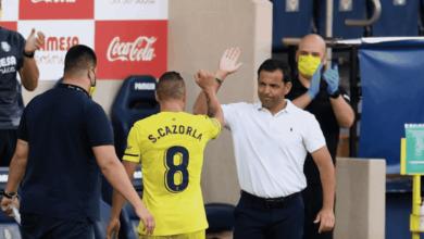 مدرب فياريال خافيير كاييخا يودع سانتي كازورلا في نهاية الدوري الاسباني 2020/1019