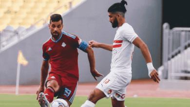 فرجاني ساسي وعبد الله السعيد في مباراة بيراميدز والزمالك ضمن استعدادات عودة الدوري المصري 2020