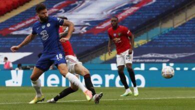 صورة فيديو أهداف مانشستر يونايتد وتشيلسي فى كأس الاتحاد الانجليزي