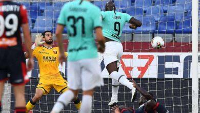 صورة فيديو أهداف مباراة انتر ميلان وجنوي فى الدوري الايطالي