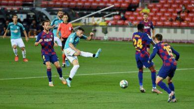 صورة أهداف مباراة برشلونة وأوساسونا في الدوري الاسباني