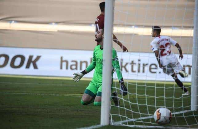 نتيجة مباراة روما وإشبيلية في الدوري الأوروبي (صور:AFP)