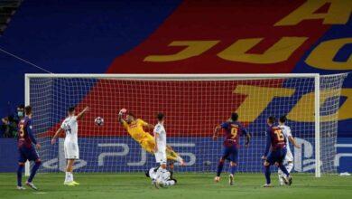 صورة فيديو أهداف برشلونة ونابولي في دوري أبطال أوروبا