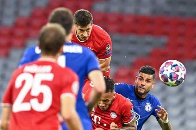 ليفاندوفسكي-نتيجة مباراة بايرن ميونخ وتشيلسي فى دوري أبطال أوروبا (صور:AFP)