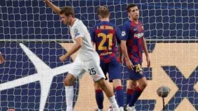 صورة فيديو أهداف برشلونة وبايرن ميونخ في دوري أبطال أوروبا