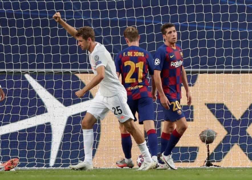 أهداف مباراة برشلونة وبايرن ميونخ فى دوري أبطال أوروبا (صور:AFP)