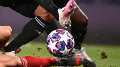 """صورة صور مباراة بايرن ميونخ وليون في دوري أبطال أوروبا """"تأهل مستحق مع الشكر لإيكامبي"""""""
