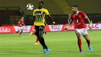 مباراة الاهلي والانتاج الحربي في الدوري المصري (صور:Google)