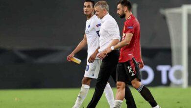 قائد كوبنهاجن يشكر سولشاير بعد مواجهة مانشستر يونايتد