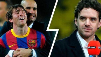 صورة لاعب مانشستر سيتي السابق ينصح جوارديولا بتجنب التعاقد مع ميسي