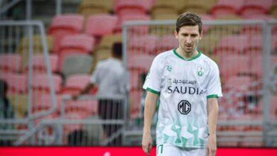 """صورة أهلي جدة يُجهز """"مارين"""" ويحبط انتقال لاعبه إلي اتحاد جدة بـ12 مليون ريال"""