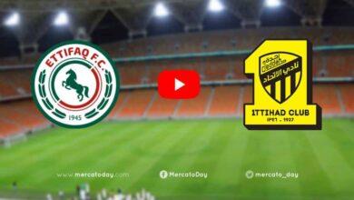 صورة بث مباشر | شاهد الاتحاد والاتفاق في الدوري السعودي