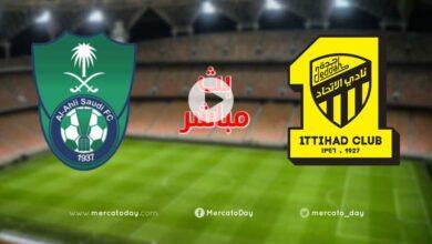 صورة بث مباشر | مشاهدة مباراة الاهلي والاتحاد في الدوري السعودي