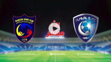 صورة بث مباشر | مشاهدة مباراة الهلال والحزم في الدوري السعودي