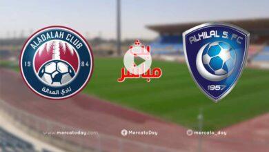 صورة بث مباشر | مشاهدة مباراة الهلال والعدالة في الدوري السعودي