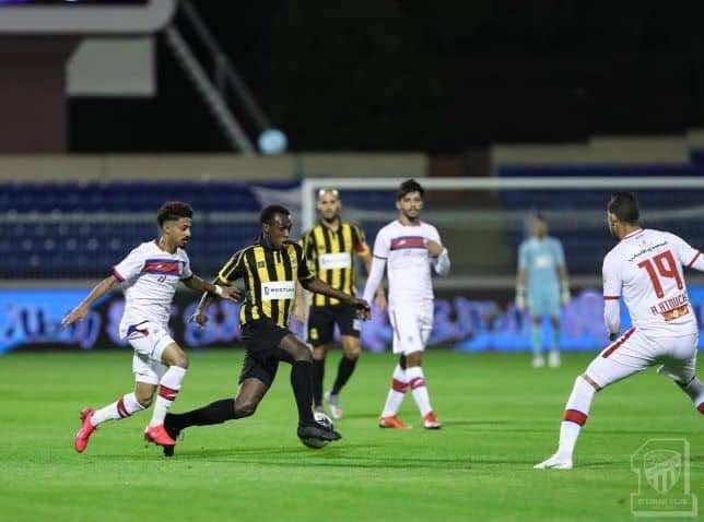 نتيجة مباراة اتحاد جدة أبها فى الدوري السعودي (صور:twitter)