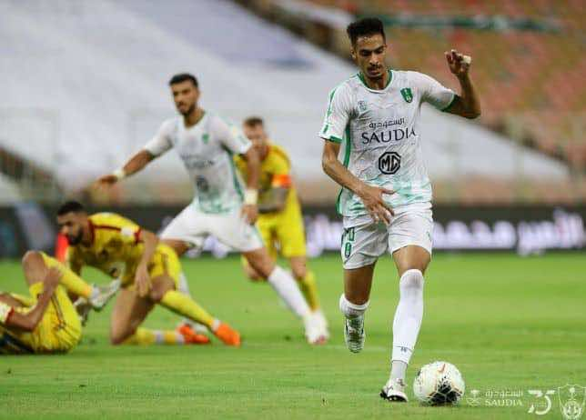 نتيجة مباراة أهلي جدة والحزم في الدوري السعودي (صور:twitter)