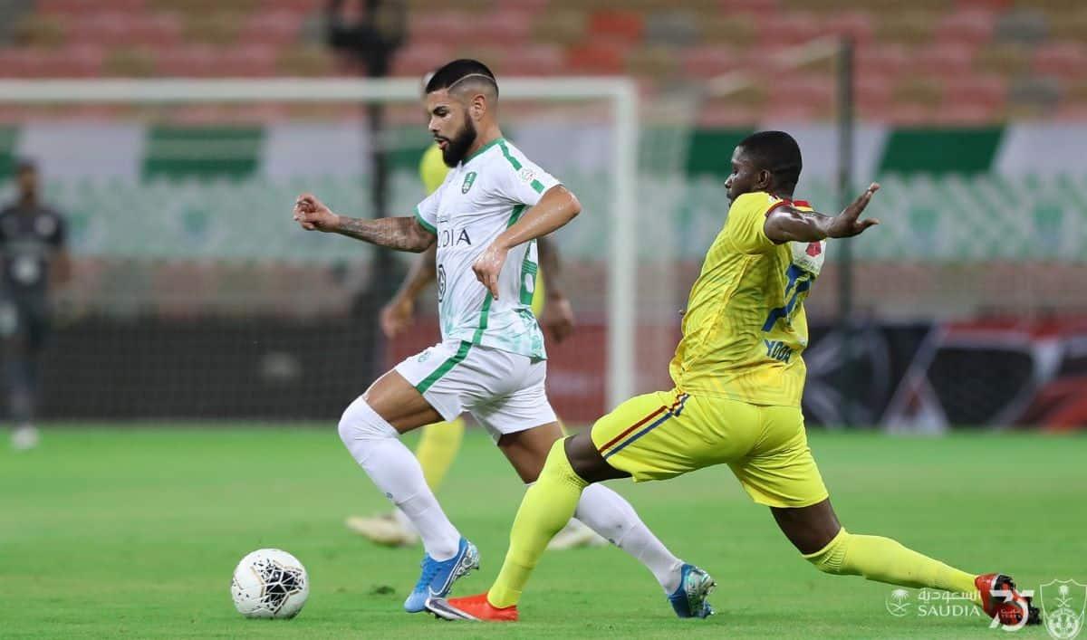 نتيجة مباراة أهلي جدة والحزم في الدوري السعودي