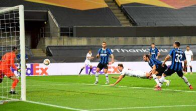 أهداف مباراة الانتر واشبيلية فى نهائي الدوري الأوروبي (صور:AFP)