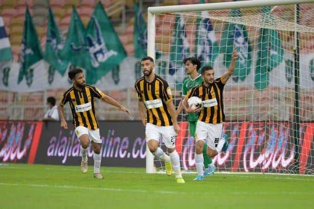 نتيجة مباراة الاهلي والاتحاد فى الدوري السعودي (صور:twitter)