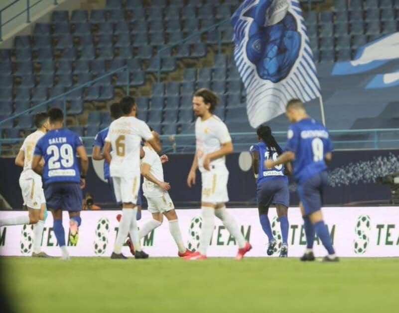 أهداف مباراة الهلال والفتح في الدوري السعودي (صور:twitter)