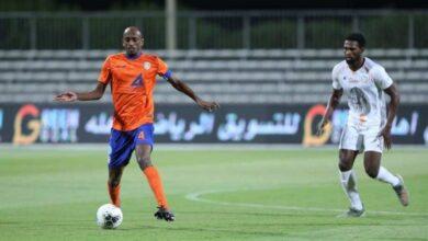 مباراة الفيحاء والشباب فى الدوري السعودي (صور:twitter)