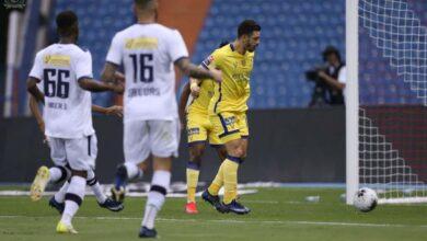 صورة فيديو أهداف مباراة النصر والعدالة فى الدوري السعودي