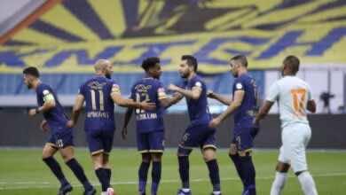 صورة فيديو أهداف النصر والفيحاء فى الدوري السعودي