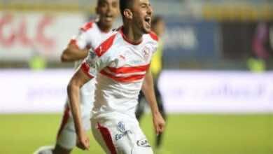 صورة فيديو أهداف الزمالك وإنبي فى الدوري المصري