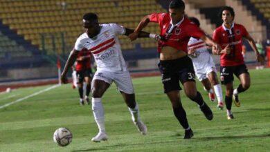 صورة فيديو ملخص مباراة الزمالك ونادي مصر في الدوري المصري