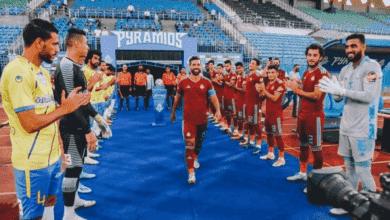 تكريم لاعب بيراميدز عبد الله السعيد