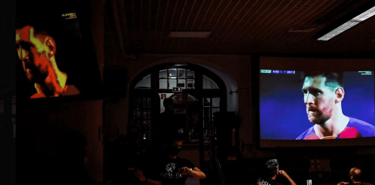 ليونيل ميسي في مباراة برشلونة وبايرن ميونخ 8-2 - صور Getty