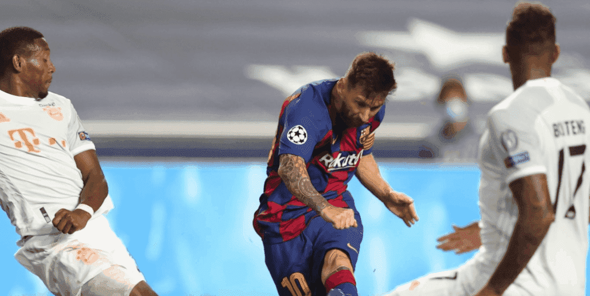 فضيحة برشلونة امام بايرن ميونخ 2-8 في ربع نهائي دوري أبطال أوروبا (صور: Getty)