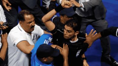 صورة الاهلي كان يحق له اعادة مباراة الجونة بعد خطأ مهني فادح من الحكم إبراهيم نور الدين