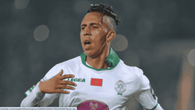 سفيان رحيمي لاعب الرجاء المغربي