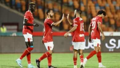صورة فيديو أهداف مباراة الاهلي وأسوان في الدوري المصري