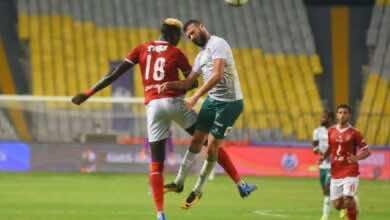 """صورة صور مباراة الاهلي والمصري البورسعيدي """"الدبابة السنغالية تتصدر المشهد"""""""