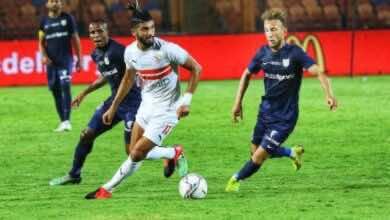 صورة الزمالك يستعيد نغمة الانتصارات بفوز ثمين على انبي فى الدوري المصري