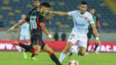 مباراة الوداد والجيش الملكي فى الدوري المغربي (صور:Google)