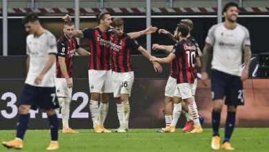 صورة فيديو أهداف ميلان وبولونيا في الدوري الإيطالي